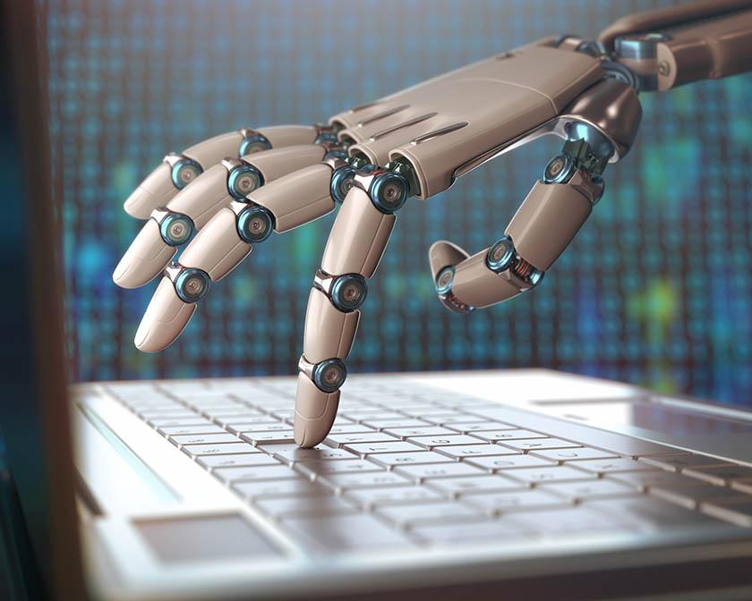 Robot rozmawia jak człowiek