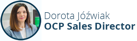 Dorota Jóźwiak - OCP Sales Director, Stanusch Technolgies